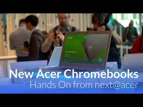 Hands On With New Acer Chromebook Spin 13 & 15