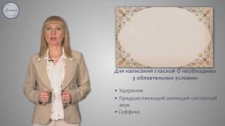 Русский 6 Гласные О и Е после шипящих в суффиксах существительных