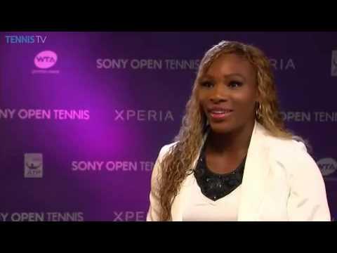 Miami Serena Interview HD 29 March 2014