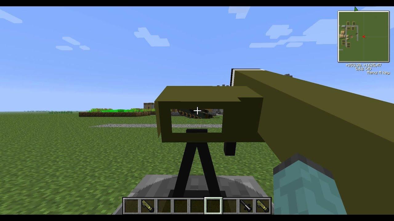 how to build a mini gun
