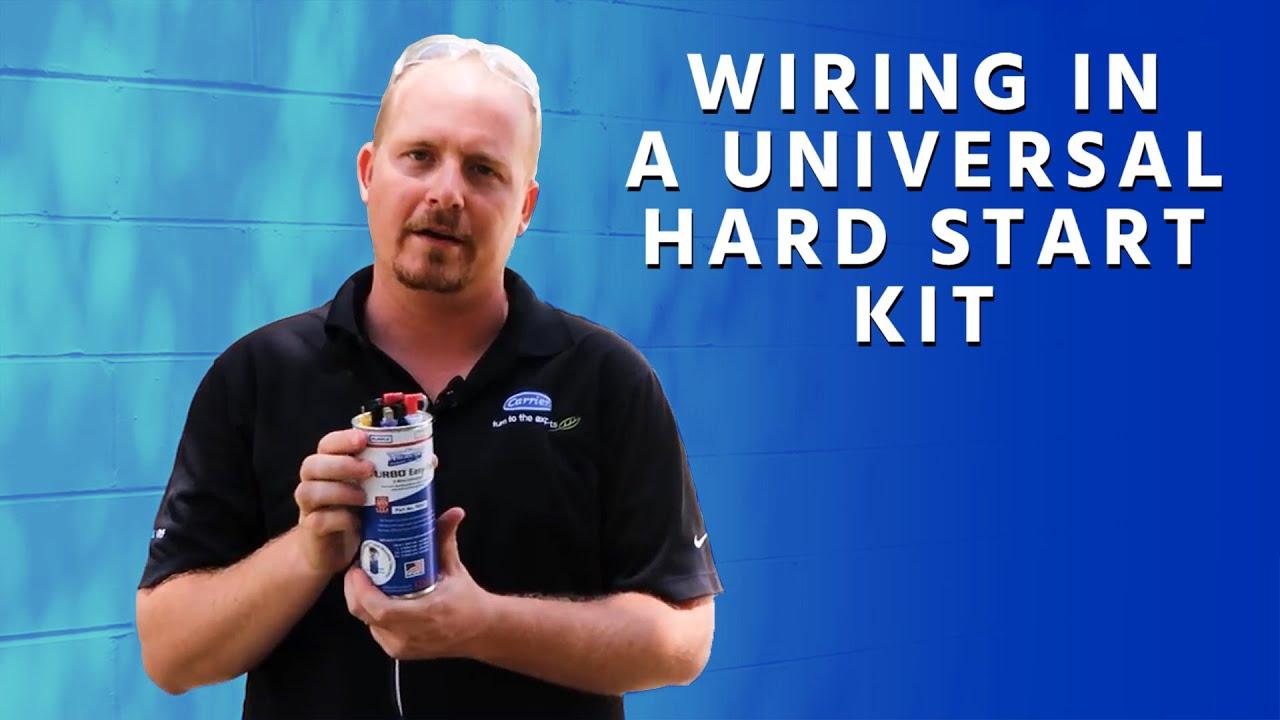 Wiring In A Universal Hard Start Kit Youtube