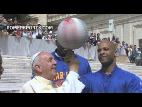 In Vatican City, faith and sports join forces