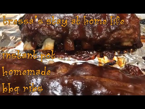 Instant Pot Homemade BBQ Ribs