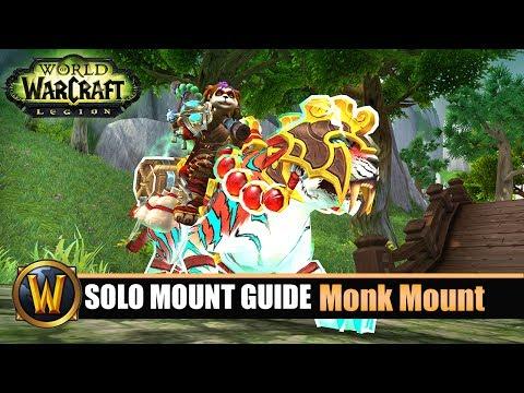 Telars Solo Mount Guide #60 Monk Class Mount (7.2.5)