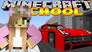 Minecraft School : RACING FAST CARS!