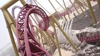 The Velociraptor (Front Seat HD POV) - IMG Worlds of Adventure