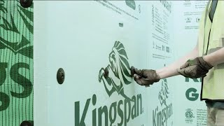 Fasteners to attach GreenGuard® insulation from Kingspan® by Rodenhouse Fastening Systems.