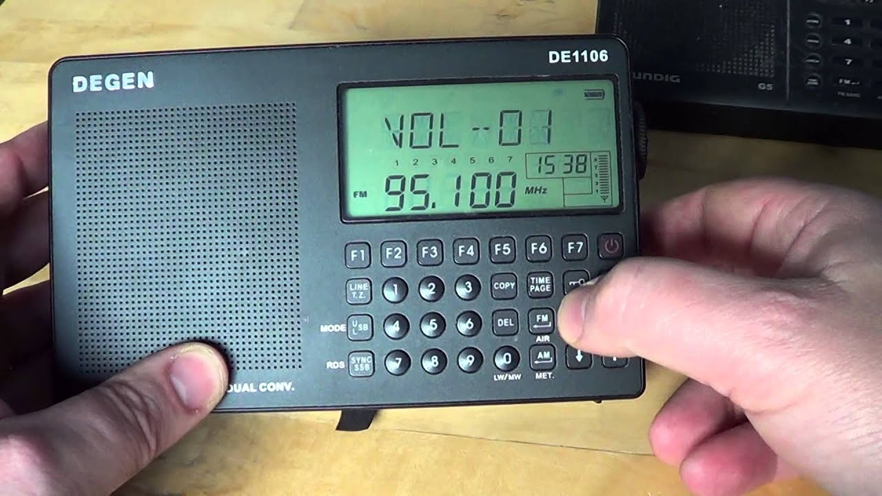 Best Shortwave Radio For 100 Or More In Portable February