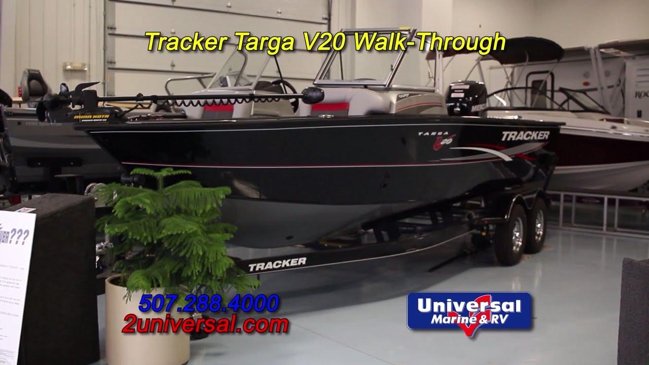 2016 Tracker V20 Targa WT Fishing Boat For Sale Rochester MN