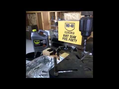 Rust Remover Soak Dissolves Rust Fast