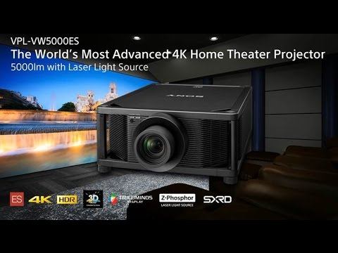 Sony 4K SXRD Home Cinema Projector | ARIES PRO TORONTO
