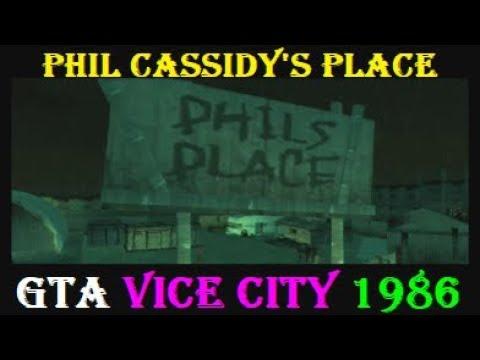 GTA Vice City Assets: Phil's Place (Phil Cassidy) Gun Running