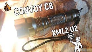 convoy C8 New Edition Бюджетная версия - Обзор и Ночные Тесты