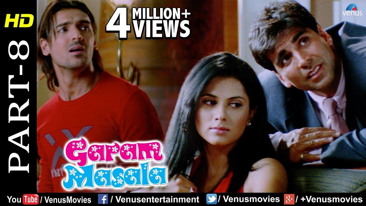 Garam Masala - Part 8   Akshay Kumar & John Abraham   Best Comedy Movie Scenes
