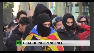 Leaders of Catalonia independence bid on trial in Madrid