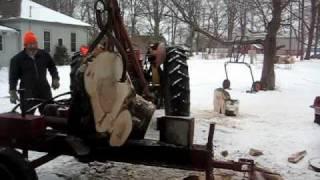 Wood splitter Breaks