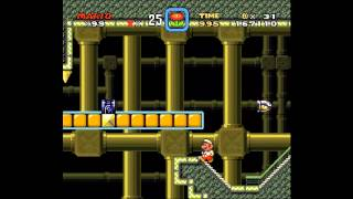 Super Mario World - Snake Block FAIL