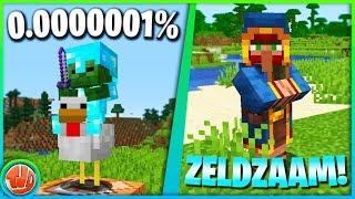 10 Meest ZELDZAME Minecraft Mobs In 1.14!!