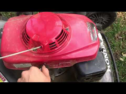 Honda Commerical Push Mower