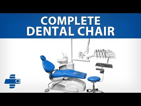 Complete Dental Chair - With fordward mounted tubes (954-S2308)