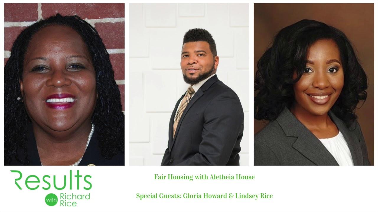 Fair Housing With Aletheia House Gloria Howard Lindsey