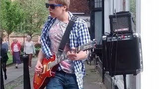 Guns 'n' roses - Paradise City Cover - Busking - James Bell Thumbnail