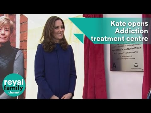Kate opens Addiction treatment centre