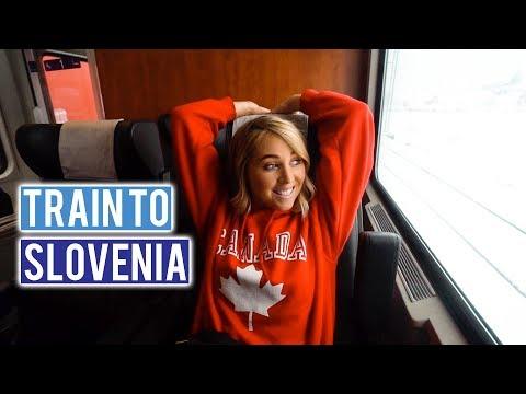 Train to Slovenia