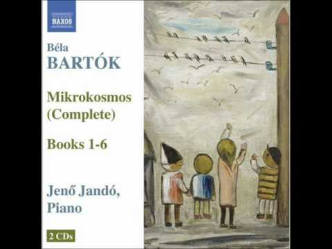 J. Jando plays Bartok Mikrokosmos from No.97 to 153