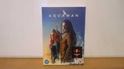 Aquaman (UK) DVD Unboxing