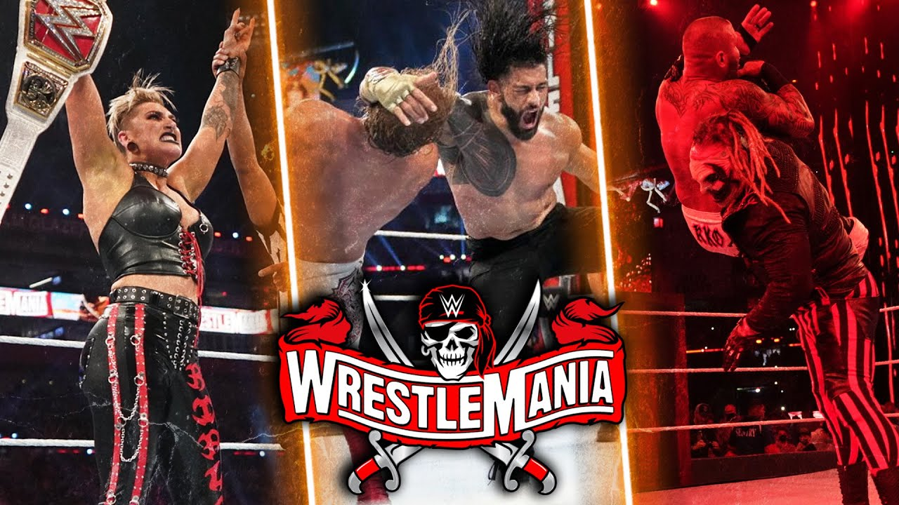 WrestleMania 37 Night 2 results: Roman Reigns retains, three other ...