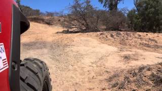 more shaky rzr570 video at flat rock nq, Aust.