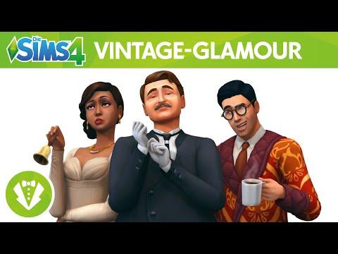 Die Sims 4 Vintage-Glamour-Accessoires: Offizieller Trailer