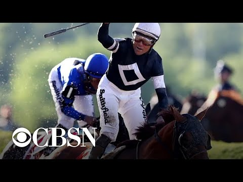 Sir Winston wins the Belmont Stakes in first Triple Crown race