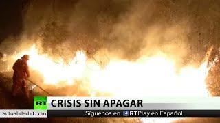 Evo Morales pide ayuda para apagar los incendios de Bolivia y suspende su campaña electoral