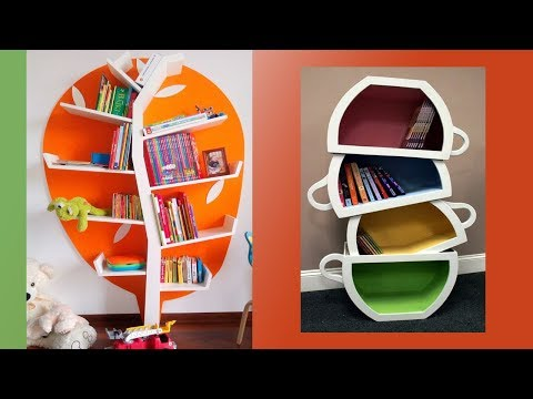 101+ Wall Decor Ideas,  floating shelves, creative corner shelves #2