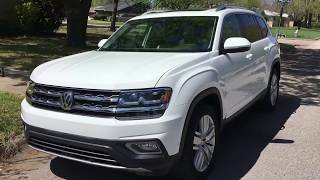 A BETTER Ford Explorer---2018 Volkswagen Atlas Review