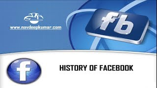 History of  Facebook