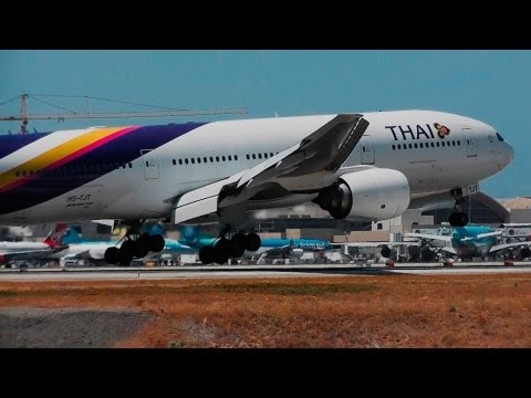 Morning Heavies at Los Angeles International Airport | 40 mins of incredible HD Plane Spotting!