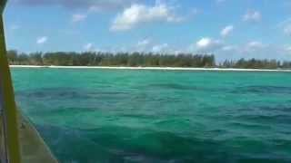Catamaran from cruise port to Passion Island, Cozumel Mexico Part 2