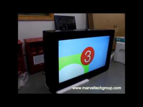 Marvel Technology outdoor wall mount display LCD digital signage