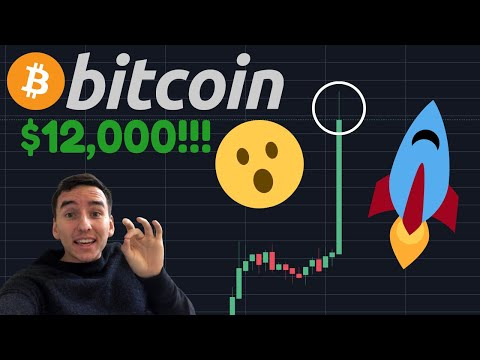BITCOIN IS BREAKING OUT TO $12,000 RIGHT NOW!!!!!!!