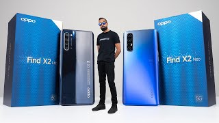OPPO Find X2 Neo vs OPPO Find X2 Lite Unboxing