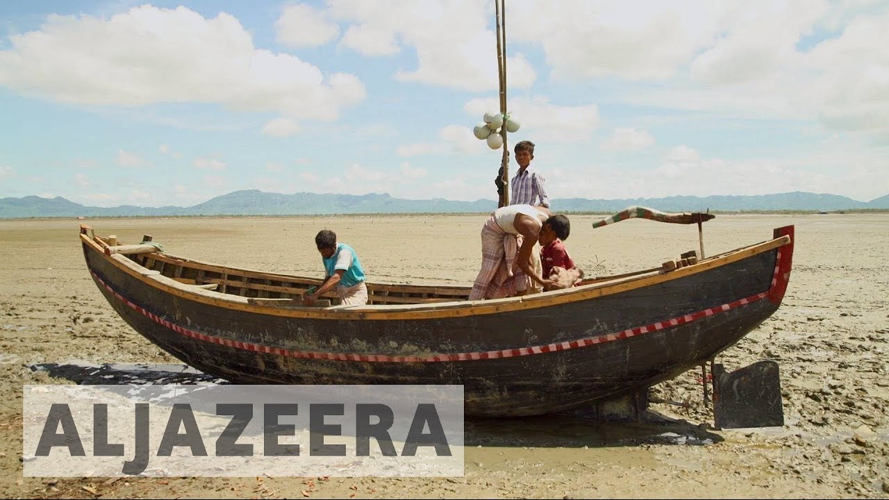 Rohingya refugees risk dangerous journeys to escape violence