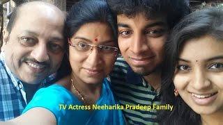 Sasirekha Parinayam Serial Fame Neeharika Pradeep Family Photos