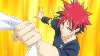 アニメ「食戟のソーマ 神ノ皿」PV 第4期が10月11日スタート