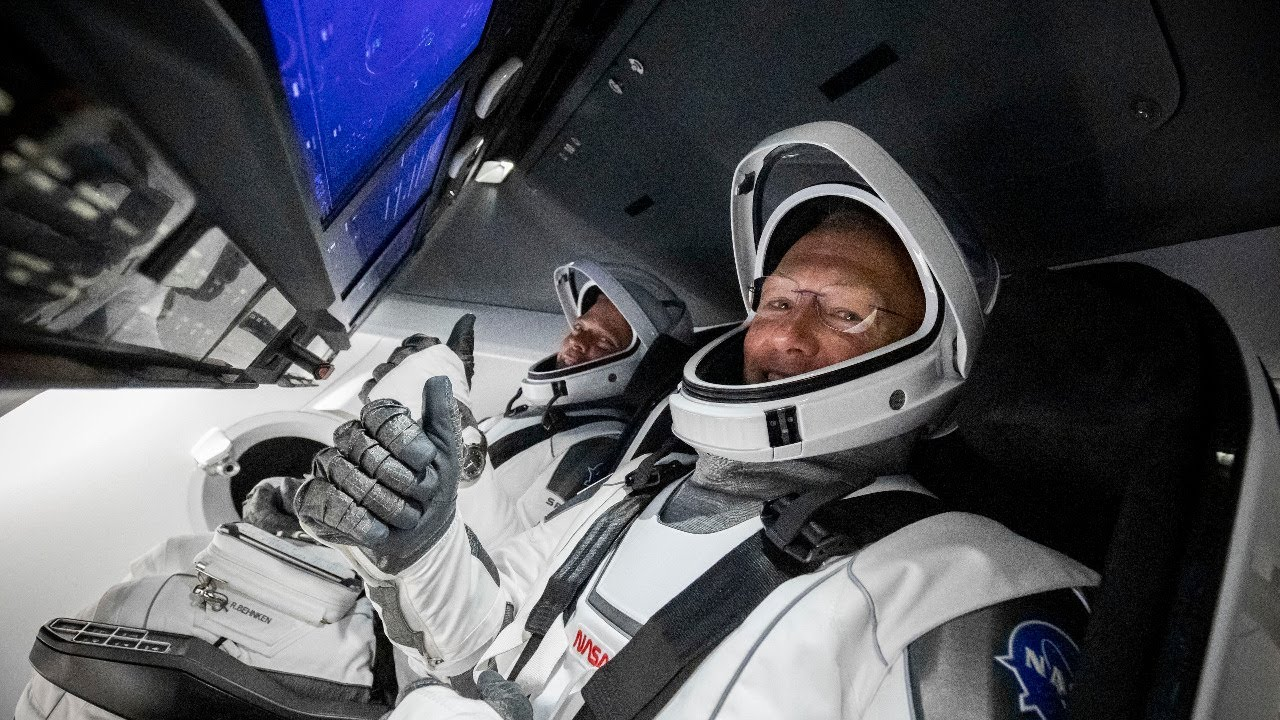 First launched SpaceX astronauts coming home