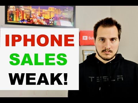 APPLE IPHONES SELLING POORLY 100% CONFIRMED