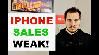 APPLE IPHONES SELLING POORLY 100% CONFIRMED
