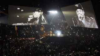 Jay Z tour :After playing Kanye's 'Cant Tell Me Nothing' gave shout outs to kayne & Chance